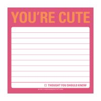 You're Cute: Sticky Note