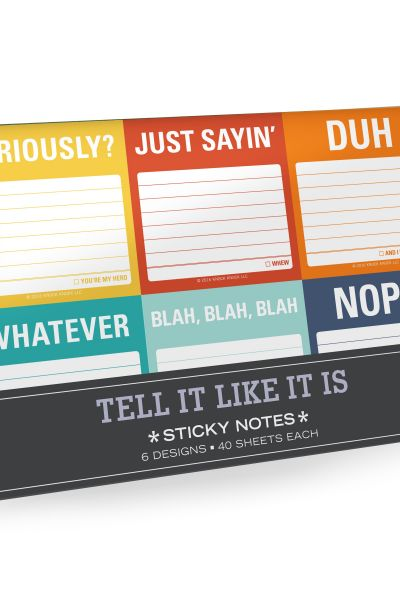 Tell It Like It Is: Sticky Notes Packet