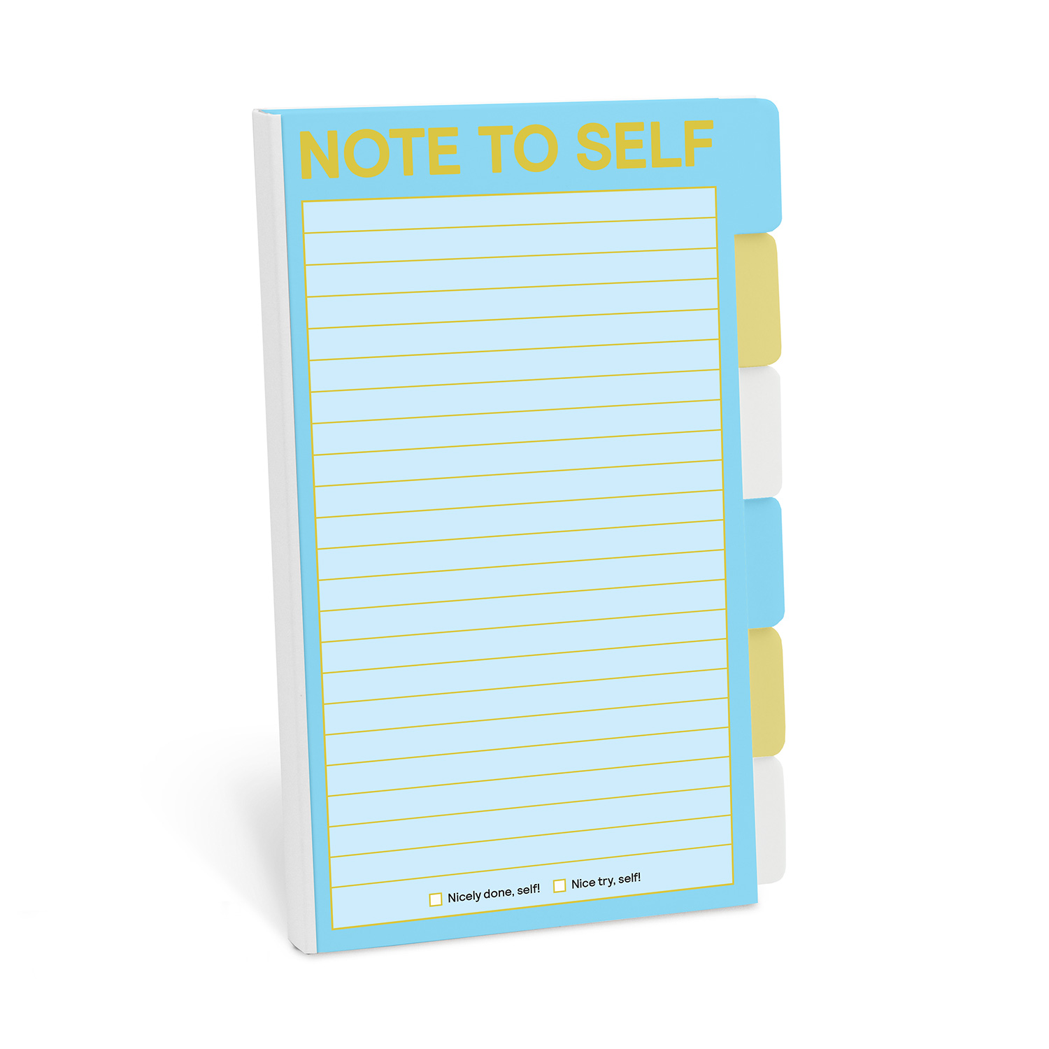 Tabbed Sticky Note Folio: Note to Self