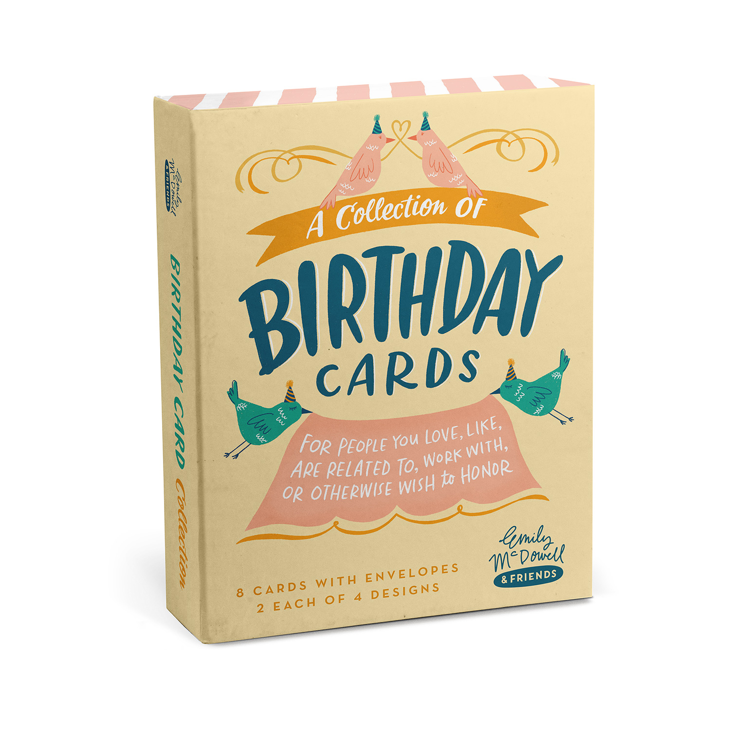 Birthday Cards: Mixed Box Card Sets