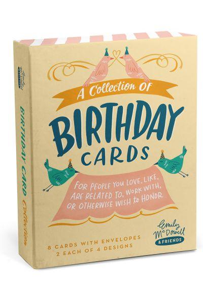 Birthday Cards: Mixed Box Card Sets