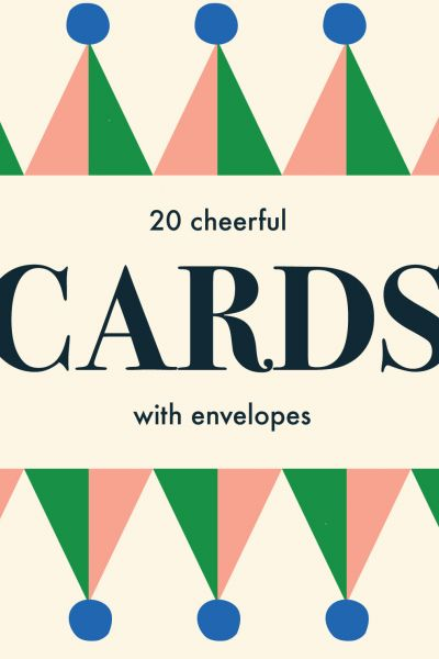 Cheerful, 20 cards with Envelope in a Box