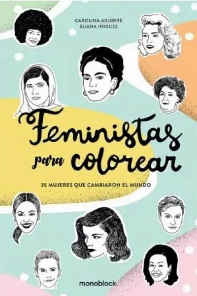 Feministas para Colorear