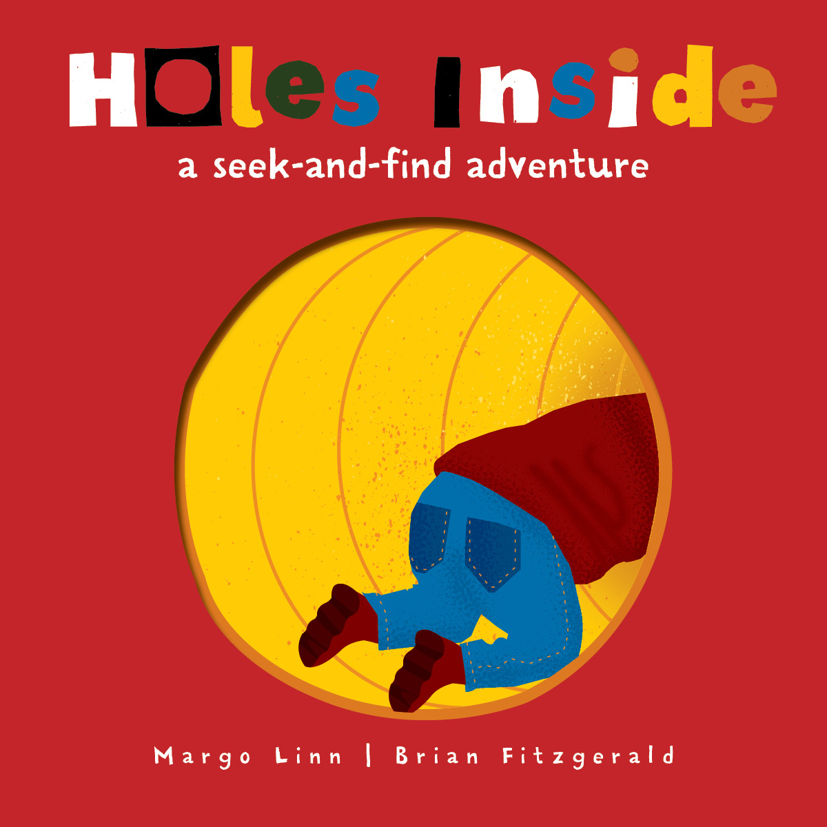 A Search-and-Find Book: Holes Inside